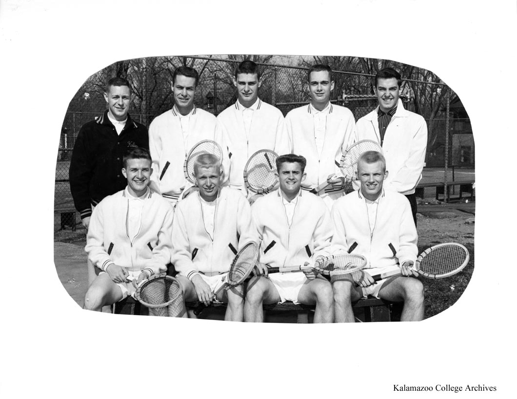 Cache 1958 Mens Tennis Team Kalamazoo College