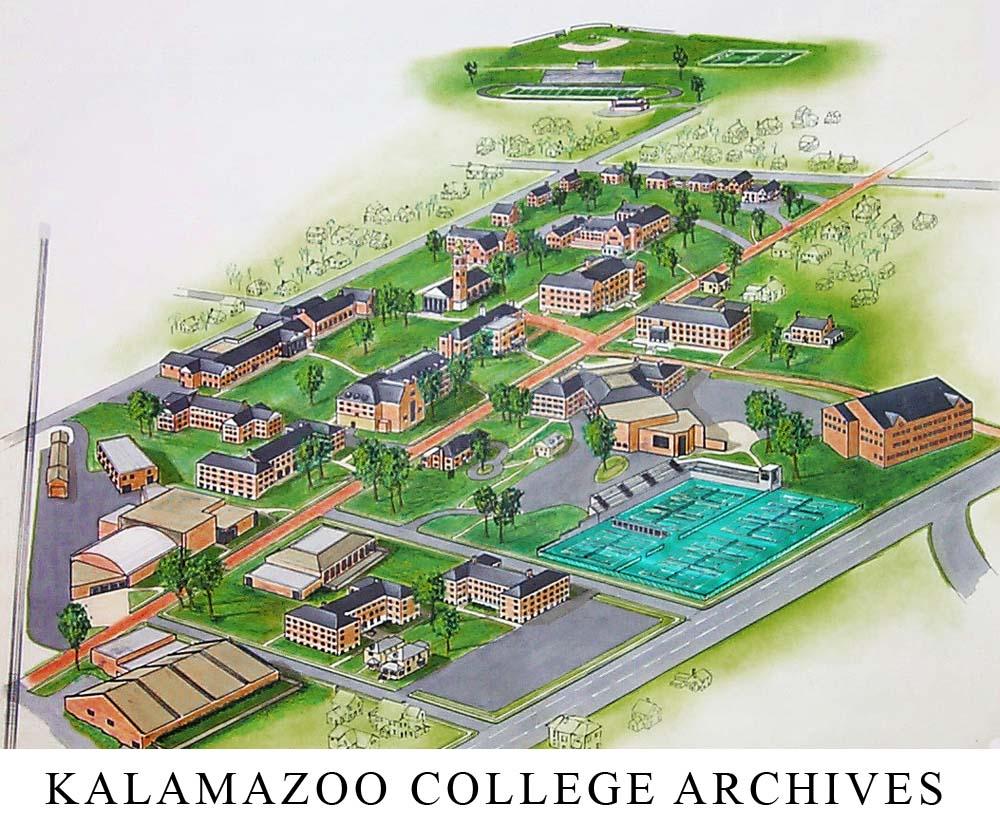 Cache Kalamazoo College Campus Map Kalamazoo College